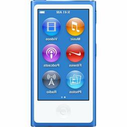 NEW Apple iPod Nano 7th Generation 16GB Blue 16 GB i Pod MP3