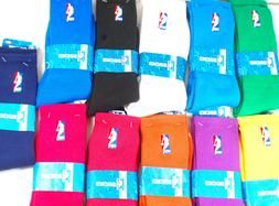 NEW! NBA Logoman Player Crew Socks Men's Large Size Assorted