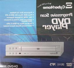 New Open Box CyberHome Progressive Scan CH-DVD 300 DVD MP3 P