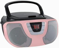 New Sylvania Portable CD Player AM/FM Radio Stereo Boombox A
