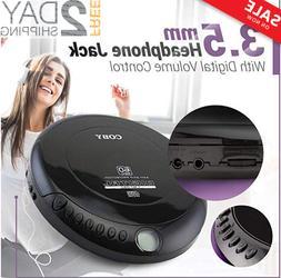 {NEW} Portable Discman CD Walkman Compact CD Player Anti Ski