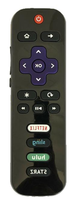 New RC280-07 HDTV Remote for TCL ROKU TV with Netflix Sling