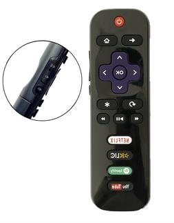 New USBRMT Replaced Remote RC280-04 for TCL ROKU TV  Hulu Vu