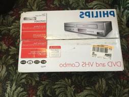NEW Sealed Box Philips DVP3345V DVD VCR Progressive Scan Com