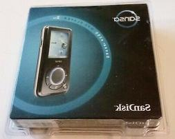 NEW SEALED SanDisk Sansa e250 Black  Digital Media MP3 Playe