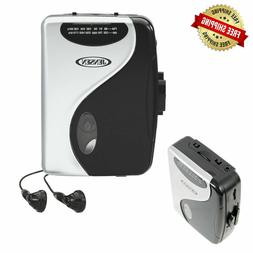 NEW Stereo Cassette Player AM FM Radio Portable Walkman with