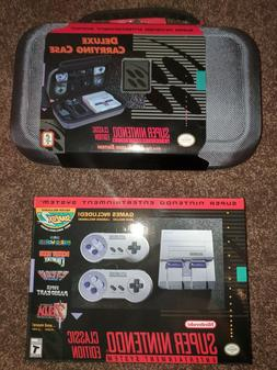 New Super NES Nintendo Entertainment System: SNES Classic Ed