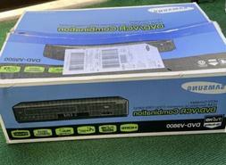 NEW Samsung VCR DVD-V9800 Tunerless 1080p Upconverting VHS C