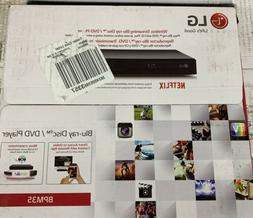 NEW LG Wireless Streaming Blue-Ray Disc/ DVD Player BPM35