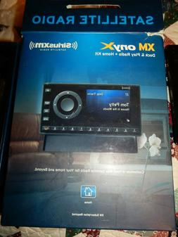 New Sirius XM Onyx Satellite Radio-Dock +Play Home Kit Recei
