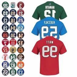 """NFL """"Eligible Receiver"""" Player Name & Number Jersey T-Shirt"""