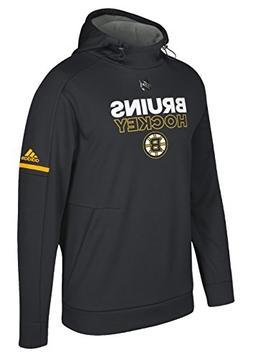 adidas Men's NHL Player Hoody Sweatshirt-Boston Bruins-Black