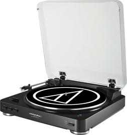 Audio-Technica AT-LP60BK Fully Automatic Belt-Drive Stereo R