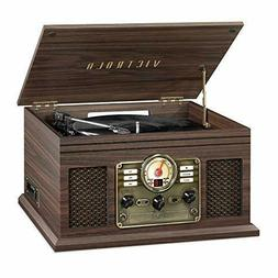 Victrola Nostalgic 6-in-1 Bluetooth Record Player & Multimed