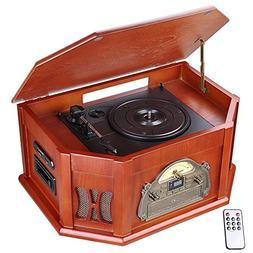 AW Nostalgic Vinyl Record Classic Player 3-Speed Turntable B