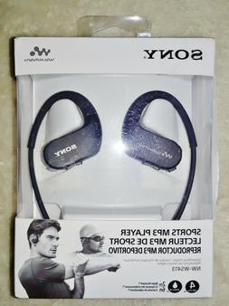 Sony NW-WS413BM 4GB Waterproof and Dustproof Wearable MP3 Pl