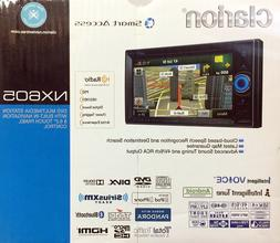 Clarion NX605 2-Din DVD Multimedia Station with Built-In Nav
