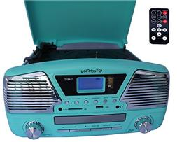 TechPlay ODC35 TR, 3 Spead turntable, programmable MP3 CD pl