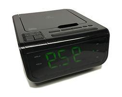 Onn ONA502 CD/AM/FM/Alarm Clock Radio with Digital Tuning Al