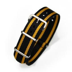 One-Piece 20mm John Player Special Inspired Racing Strap Nyl