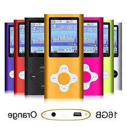 G.G.Martinsen Orange 16GB Versatile MP3/MP4 Player with Phot