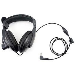 overhead noise cancelling headset earpiece