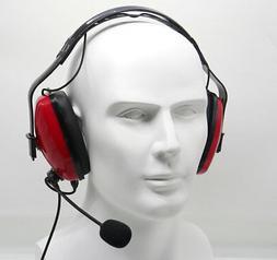Overhead Noise Cancelling Headset for KENWOOD PUXING BAOFENG