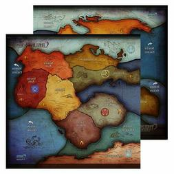 Cthulhu Wars - Oversized 3-5 Player Earth Map  - EXCLUSIVE -