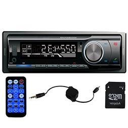 Panlelo PA6219, Single-Din Head Unit 1 Din Car Stereo AM/FM