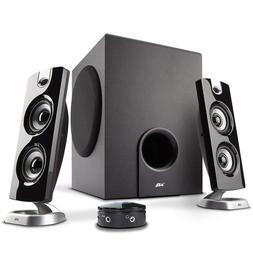 PC Gaming Speaker Sound System with Subwoofer and Control Po