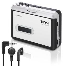 Pyle PCASRSD17 Cassette Tape to MP3 Converter Recorder - Tap