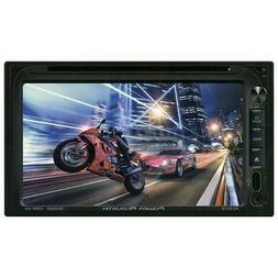 Power Acoustik PD 651B Double-DIN In-Dash LCD Touchscreen DV