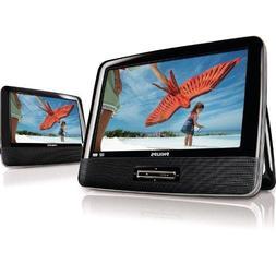 "Philips PD9012/17 9"" Widescreen Portable DVD Player w/Additi"