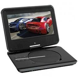 GPX PD901B Portable DVD Player With 9 in LCD Display