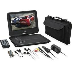 "GPX PD901VPB Portable DVD Player - 9"" Display - 800 x 480 -"