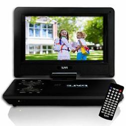 "PDV91BK Portable DVD Player - 9"" Display - 800 x 480 - Black"