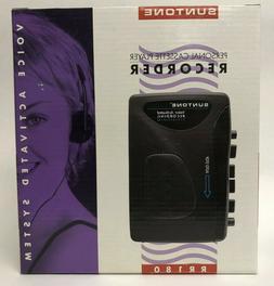 Suntone Personal cassette player recorder voice activated re