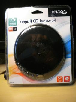 GPX PERSONAL CD PLAYER WITH EARBUDS NEW