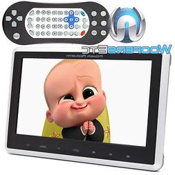 "POWER ACOUSTIK PHD-101 10.1"" LCD DVD USB SD AUX UNIVERSAL HE"
