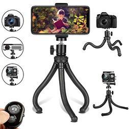 Phone Tripod, Flexible Cell Phone Tripod Adjustable Camera S