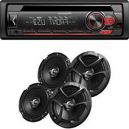 Pioneer DEH-150MP Car Audio CD MP3 Stereo Radio Player, Fron
