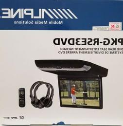 "ALPINE PKG-RSE3DVD 10.2"" Flip Down Video Monitor With Built-"