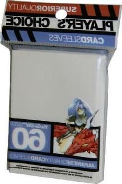 Player's Choice White Yugioh Sized-Mini 60 ct Sleeves