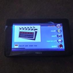 "Coby PMP-7040 Portable Media Player 7""LCD Digital Security V"
