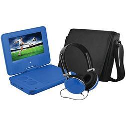 "7"" PORT DVD PLYR BLU, 7"" Portable DVD Player Bundle , 7"" por"