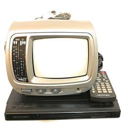"Portable Entertainment Bundle - Coby 5"" B&W TV AM/FM Radio C"
