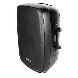 """Portable 15"""" Inch Active Powered Bluetooth PA DJ Loudspeaker"""