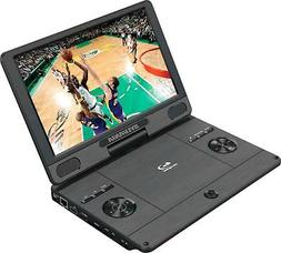 Sylvania 11.4-Inch 720p Portable Blu-Ray, DVD, CD, USB, SD M