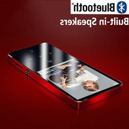 Portable Bluetooth 4.2 MP3 Player Built-in Speaker High Soun
