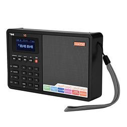 fosa Portable Bluetooth DAB+ Radio FM RDS Digital Radio Play